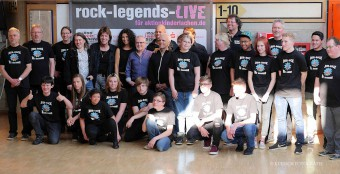 Rock Legends 2017 Gruppenbild