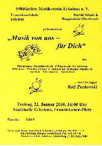 Plakat Konzert Erkelenz klein