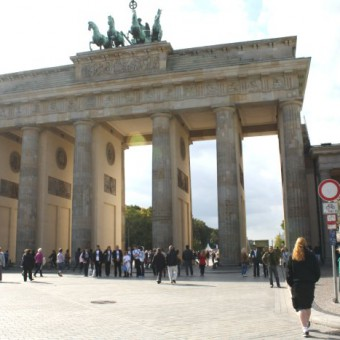 Vor dem Brandenburger Tor