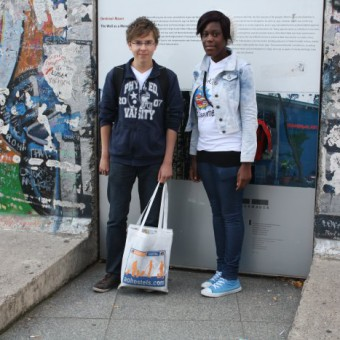 Mauerreste am Potsdamer Platz