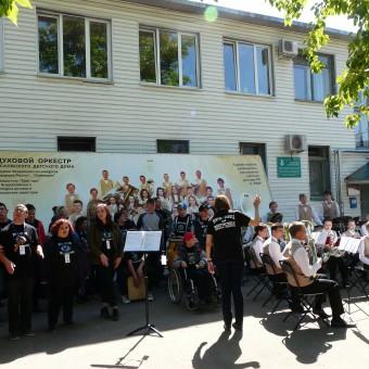 Pskow 2016 Waisenhaus gemeinsames Spiel