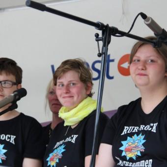 Andre Buschmann, Sabrina Jagdfeld und Janina Honigs