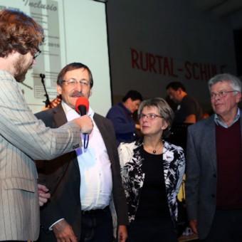 Interview u. a.  mit Klaus Eberl