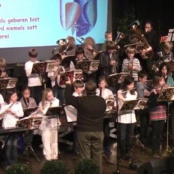Bläserklasse der Franziskus-Schule Erkelenz