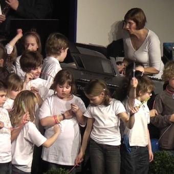 Erkelenz 2010 Rolf mit Kindern