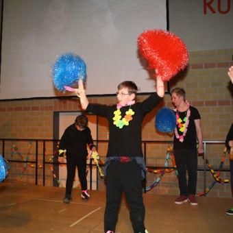 Samba-Tanz der MS 4