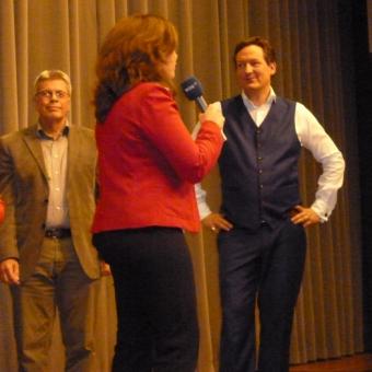 Silke Niewenhuis interviewt