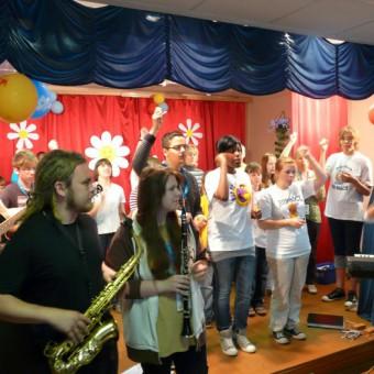 Heim für Jugendliche mit geistigen Behinderungen in Belskoje Ustje