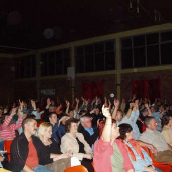 Das begeisterte Publikum