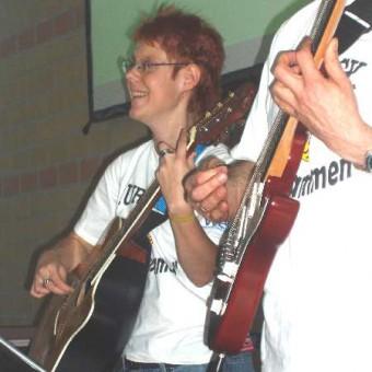 Gitarristin Jaqueline Heegemann