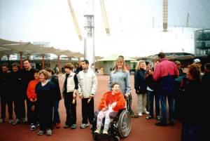 Vor dem Millenium Dome