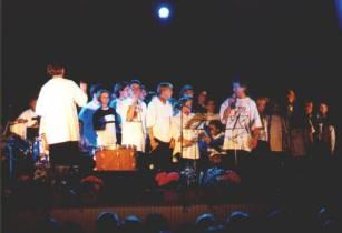 John Cashmore mit Rur-Rock