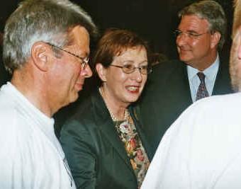Heide Simonis und Leo Dautzenberg