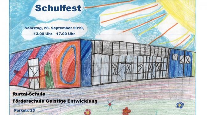Plakat Schulfest 2019