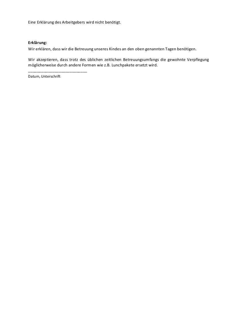 Anlage Anmeldung Betreuung bis zum 31. Januar 2021 2-2