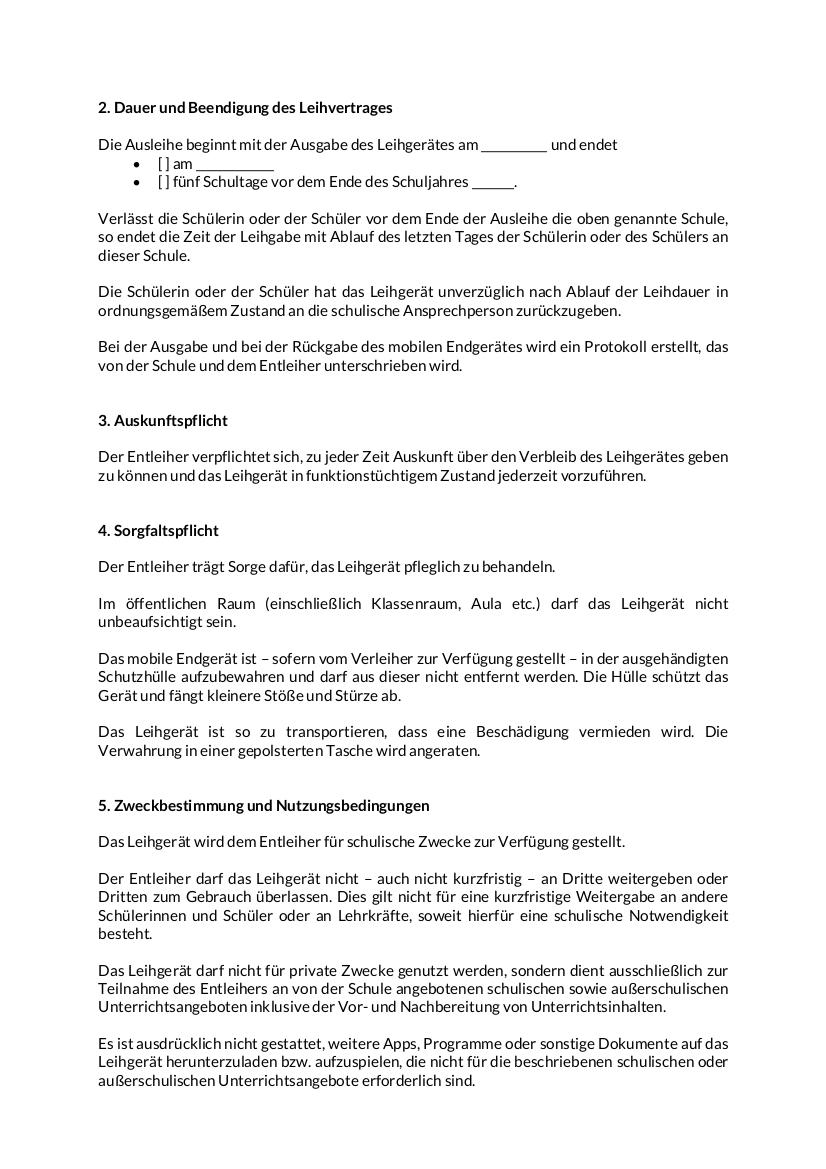 Leihvertrag 2-8 Schueler mobiles Endgerät_13122020 Version RTS