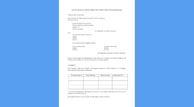 Leihvertrag Vorlage Schueler mobiles Endgerät_13122020 Version RTS