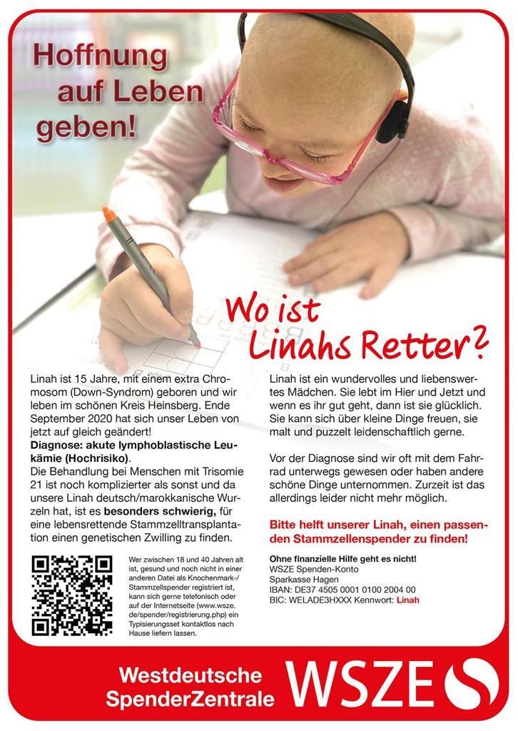 Spendersuche Linah